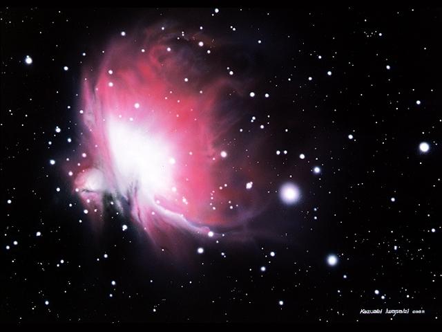 眼視的オリオン大星雲